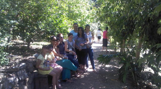 Visit to the Botanical Park of Chania