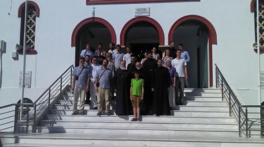 Επίσκεψη Πατρός Γεωργίου Μαρνέλλου