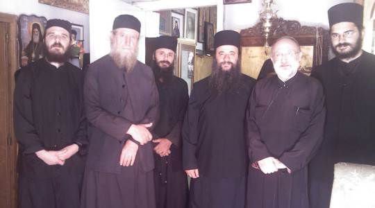 Visit from Father Gabriel Father, Igumen of the Monastery of Pantokrator of Mount Athos