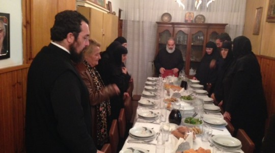 Visit from of the Holy Monastery of Mikrokastro of Kozani
