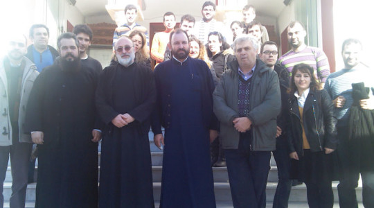 Visit from the Youth of Saint Titos of Heraklion