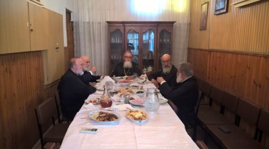 Visit of the Metropolitan Bishop of Ierapytna and Sitia