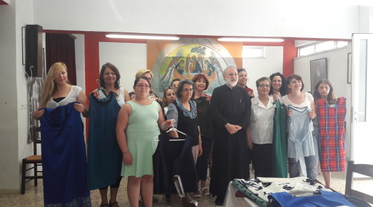 Completion of Dressmaking Courses