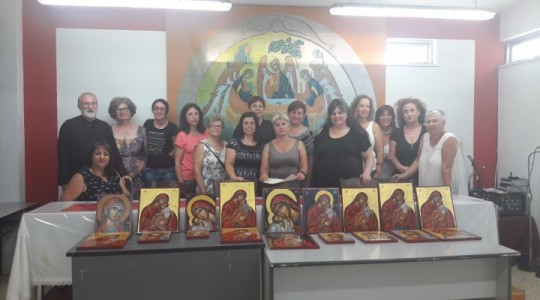 Completion of Hagiography courses