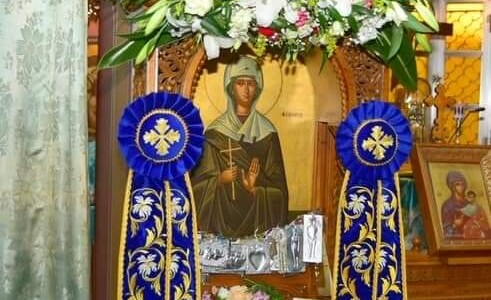Εορταστικό Πρόγραμμα Ιεράς Πανηγύρεως Αγίας Φιλοθέης 2021